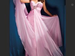 Tony Bowls Pink Size 14 Tulle A-line Dress on Queenly