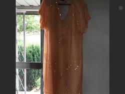 Jewel Queen Orange Size 14 V Neck Cocktail Dress on Queenly