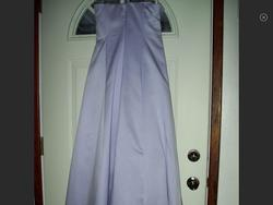 Davids Bridal Purple Size 12 A-line Dress on Queenly