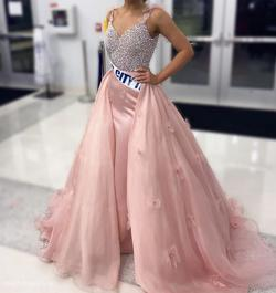 Sherri Hill Pink Size 4 Custom Ball gown on Queenly