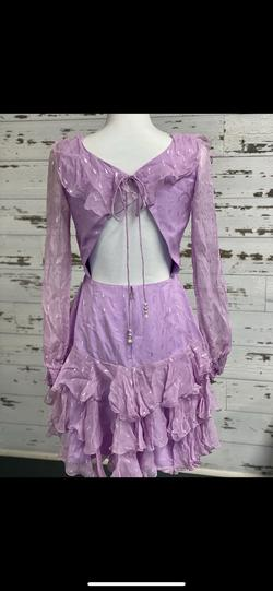 Sherri Hill Purple Size 6 Cocktail Dress on Queenly