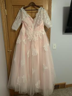 Pink Size 18 A-line Dress on Queenly