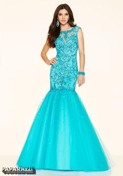 Blue Size 12 Mermaid Dress on Queenly