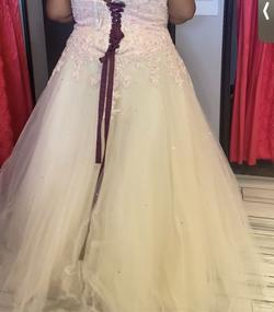 Pink Size 28 Ball gown on Queenly
