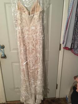Nina Canacci Nude Size 8 Mermaid Dress on Queenly