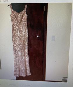 Gold Size 12 Mermaid Dress on Queenly