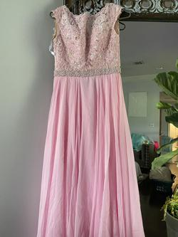 Sherri Hill Pink Size 0 A-line Dress on Queenly