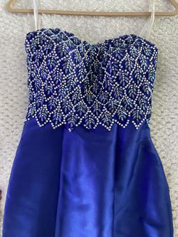 Blue Size 0 Mermaid Dress on Queenly