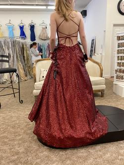 Sherri Hill Red Size 4 Ball gown on Queenly