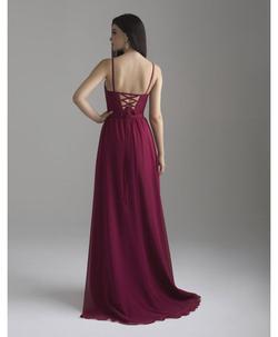 Purple Size 4 Side slit Dress on Queenly