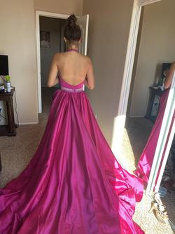 Jovani Pink Size 2 Train Dress on Queenly