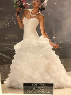 Allure White Size 6 Wedding Lace Fitted Mermaid Dress on Queenly