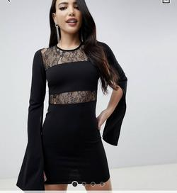 Black Size 8 Cocktail Dress on Queenly