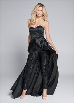 Black Size 16 Jumpsuit Dress on Queenly