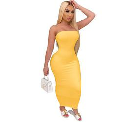STEVEN\tMORA Yellow Size 10 Mini A-line Dress on Queenly
