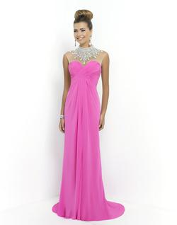 Style 9952 Blush Prom Pink Size 14 Pageant Jewelled Straight Dress on Queenly