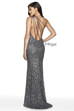 Style 563 Blush Prom Silver Size 4 One Shoulder Pageant Mermaid Dress on Queenly