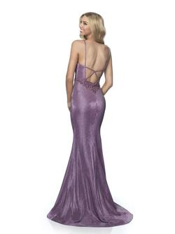 Style 11989 Blush Prom Purple Size 6 Mermaid Dress on Queenly