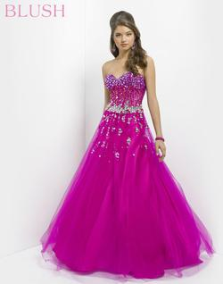 Style 5314 Blush Prom Pink Size 0 Quinceanera Tall Height Ball gown on Queenly