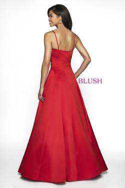 Style C2059 Blush Prom Red Size 12 Quinceanera Tall Height A-line Dress on Queenly