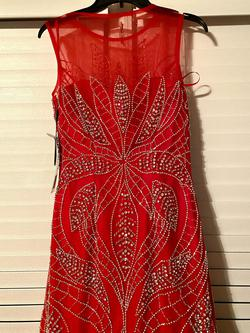 Gino Cerruti of London England Red Size 10 Mermaid Dress on Queenly