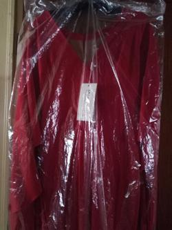 MNM Couture  Red Size 8 Jumpsuit Dress on Queenly