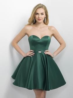 Style 11173 Blush Prom Green Size 16 Emerald Flare Prom Plus Size Cocktail Dress on Queenly