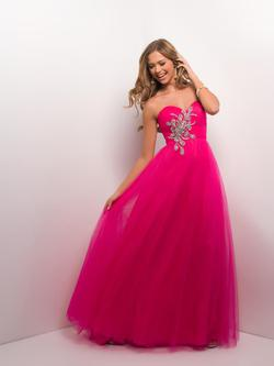 Style 9512 Blush Prom Pink Size 12 Prom Ball gown on Queenly