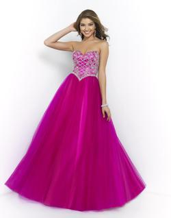 Style 5422 Blush Prom Pink Size 14 Pageant Ball gown on Queenly
