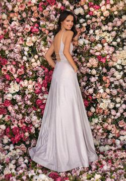 Style 8008 Clarisse Pink Size 2 Tall Height Ball gown on Queenly