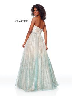 Style 3821 Clarisse Multicolor Size 2 Prom Ombre Ball gown on Queenly