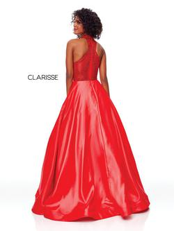 Style 3753 Clarisse Red Size 16 Prom Ball gown on Queenly
