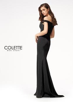 Style CL21721 Mon Cheri Black Size 8 Prom Sorority Formal Mermaid Dress on Queenly