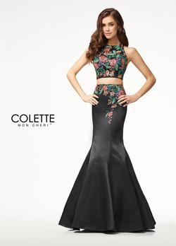 Style CL18244 Mon Cheri Black Size 4 Mermaid Dress on Queenly