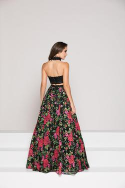 Style 1827 Colors Black Size 4 Strapless A-line Dress on Queenly