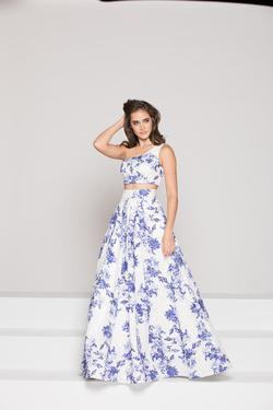 Style 1836 Colors White Size 10 Prom Wedding Guest A-line Dress on Queenly
