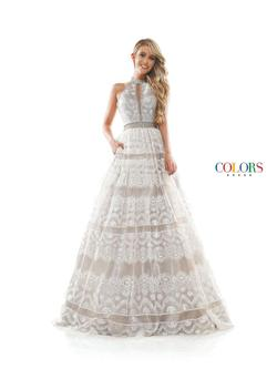 Style 2296 Colors White Size 8 Keyhole Prom Ball gown on Queenly