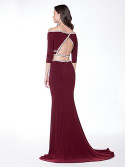 Style 1728 Colors Red Size 8 Tall Height Wedding Guest Mermaid Dress on Queenly