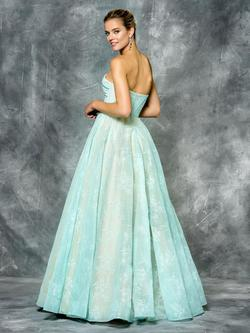Style 1684 Colors Blue Size 2 Tall Height Ball gown on Queenly