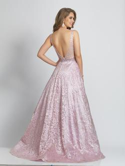 Style A9385 Dave & Johnny Light Pink Size 8 Pageant Ball gown on Queenly
