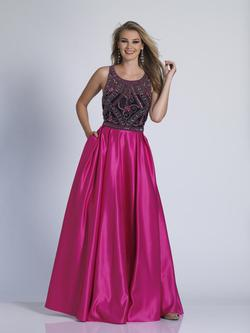 Style 3355 Dave & Johnny Pink Size 16 Pageant Dave And Johnny Ball gown on Queenly