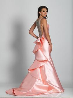 Style A6447 Dave & Johnny Pink Size 4 Sorority Formal Tall Height Mermaid Dress on Queenly