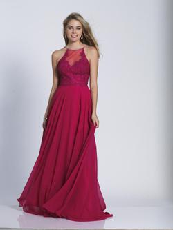 Style 3123 Dave & Johnny Pink Size 14 Sorority Formal Tall Height A-line Dress on Queenly