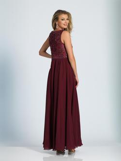 Style 1417 Dave & Johnny Red Size 18 Sorority Formal Tall Height Wedding Guest A-line Dress on Queenly
