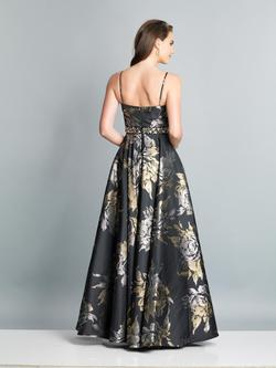 Style A7418 Dave & Johnny Black Size 14 Plus Size Pockets Ball gown on Queenly