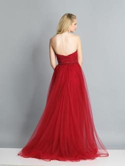 Style A7402 Dave & Johnny Red Size 4 Pageant Dave And Johnny Ball gown on Queenly