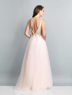 Style A7536 Dave & Johnny Light Pink Size 18 Dave And Johnny Ball gown on Queenly