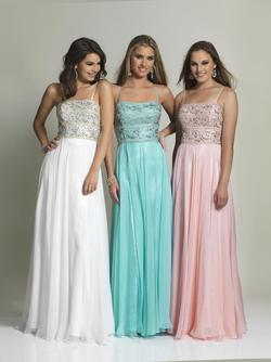 Style 1323 Dave & Johnny Blue Size 14 Tall Height A-line Dress on Queenly