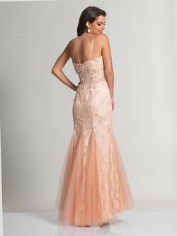 Style 1160 Dave & Johnny Pink Size 2 Lace Prom Mermaid Dress on Queenly