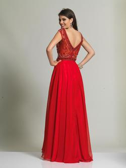 Style 1363 Dave & Johnny Red Size 20 Dave And Johnny A-line Dress on Queenly